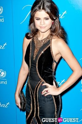 selena gomez in The 8th Annual UNICEF Snowflake Ball