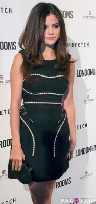 selena gomez in British Fashion Council Present: LONDON Show ROOMS LA Cocktail Party