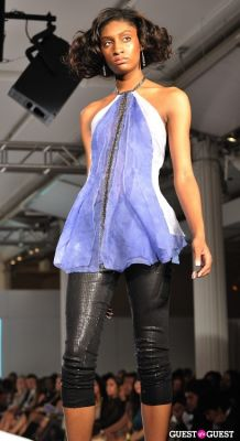 shalea poole in NY Fame Fashion Week Charity Benefit
