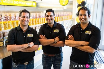 faisal lalani in Which Wich Store Opening