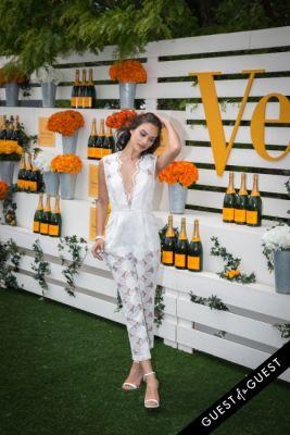 shanina shaik in Veuve Clicquot Polo Classic 2014