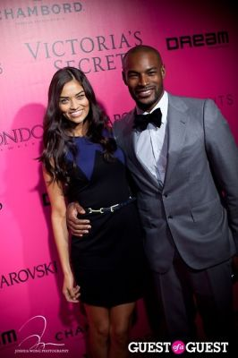 shanina shaik in Victoria's Secret 2011 Fashion Show After Party