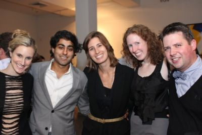 manish vora in Miami in New York: Party at the Chelsea Art Museum