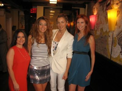 charlotte assaf in Serafina Meatpacking Grand Opening!