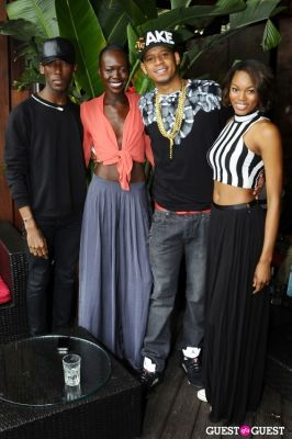 eugena washington in Everyday People Brunch at The DL Rooftop celebrating Chef Roble's Birthday