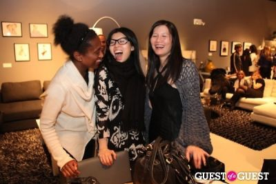 elizabeth young in Pop Up Event Celebrating Beauty, Art & Fashion