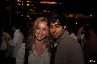 manish vora in AAF NYC09 Opening Night After Party