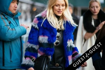 shea marie in NYFW Street Style Day 5