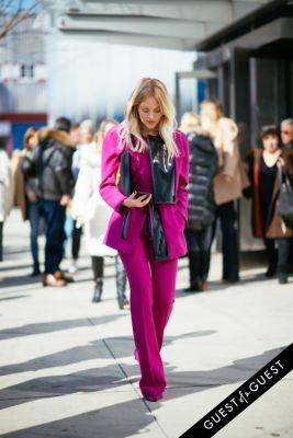 shea marie in NYFW Street Style Day 7