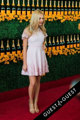 shea marie in The Sixth Annual Veuve Clicquot Polo Classic Red Carpet
