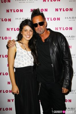 shenae grimes in NYLON Music Issue Party