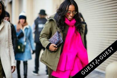 shiona turini in NYFW Street Style Day 5