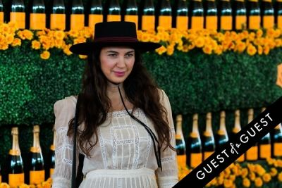 shiva rose in The Sixth Annual Veuve Clicquot Polo Classic Red Carpet