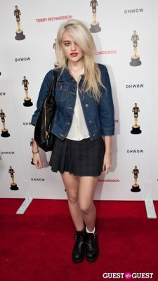 sky ferreira in Terrywood - Terry Richardson Gallery Opening