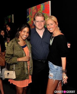 sky mccarthy in Young Art Enthusiasts Inaugural Event At Charles Bank Gallery