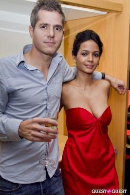 soiti roy in Longchamp/LOVE Magazine event