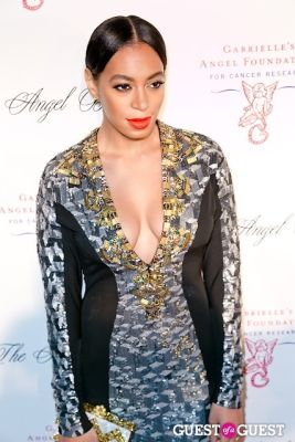 solange knowles in Gabrielle's Angel Foundation Hosts Angel Ball 2012