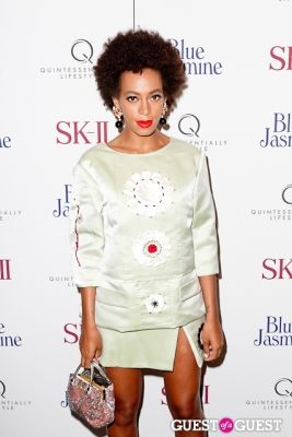 solange knowles in Blue Jasmine Premiere