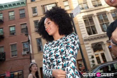 solange knowles in The Ash Flagship NYC Store Event
