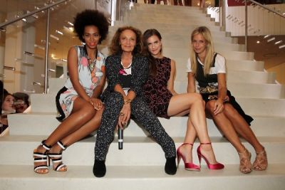 solange knowles in Last Night's Parties: Anna Wintour, DVF, Alexa Chung & More Hit The Streets For FNO 9/7/2012