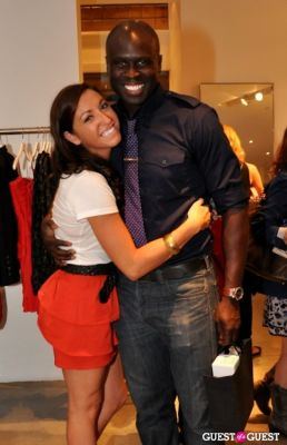 sondra ortagus in FNO Party at Intermix Georgetown