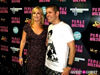 sonja morgan in Perez Hilton's One Night in NYC /Open Sky Project