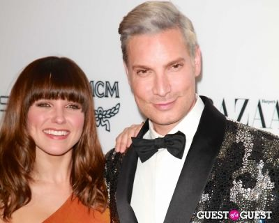 "sophia bush in Harper's Bazaar to Celebrate Cameron Silver & Christos Garkinos of Decades and Bravo's ""Dukes of Melrose"""