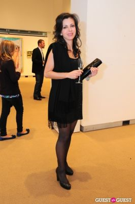 sophie chahinian in The New York Academy Of Art's Take Home a Nude Benefit and Auction