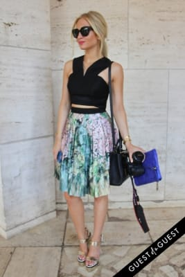 sophie elkus in NYFW Style From the Tents: Street Style Day 4