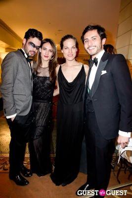 zani gugelmann in Save Venice's Un Ballo in Maschera – The Black & White Masquerade Ball