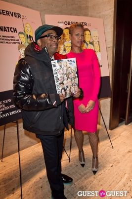 spike lee in The New York Observer 25th Anniversary