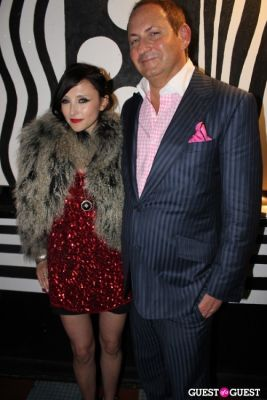 john demsey in M.A.C alice + olivia by Stacey Bendet Collection Launch