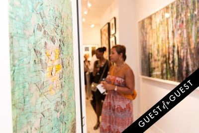 stacie scott in P Street Gallerie Opening