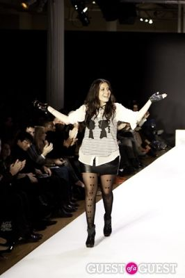 stacy igel in Boy Meets Girl Fall 2011 Runway Show