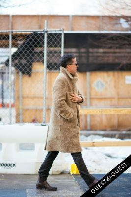 Stefano Tonchi in NYFW Street Style Day 7