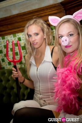steph jensen in Mara Hoffman & Pamela Love celebrate Halloween