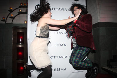 stephanie georgopulos in Ottavia et Emma's Fashion Week Kick-Off Event