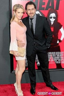 stephanie sherk in The Heat Premiere