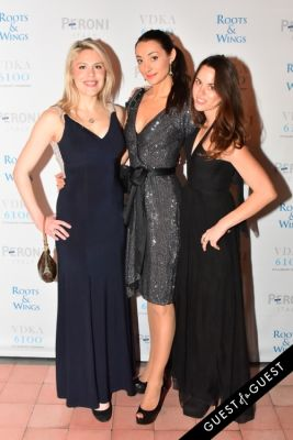 stephanie szamota in The 4th Annual Silver & Gold Winter Party to Benefit Roots & Wings