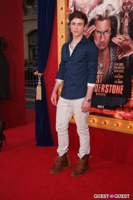 sterling beaumon in World Premiere of The Incredible Burt Wonderstone