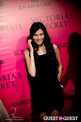 sui he in Victoria's Secret 2011 Fashion Show After Party