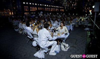 sureyya wille in Diner En Blanc's New York Premiere
