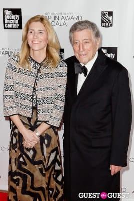 tony bennett in 40th Annual Chaplin Awards honoring Barbra Streisand