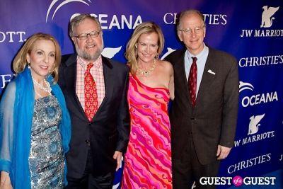 david rockefeller in Oceana's Inaugural Ball at Christie's