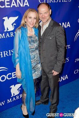 susan rockefeller in Oceana's Inaugural Ball at Christie's