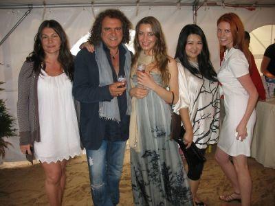 susan shin in Serafina East Hampton Opening