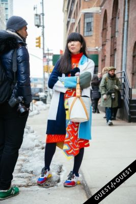 susie bubble in NYFW Street Style Day 3