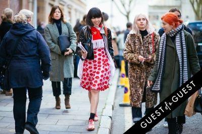 susie bubble in London Fashion Week Pt 1