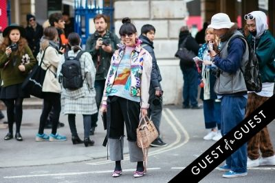 susie bubble in London Fashion Week Pt 2