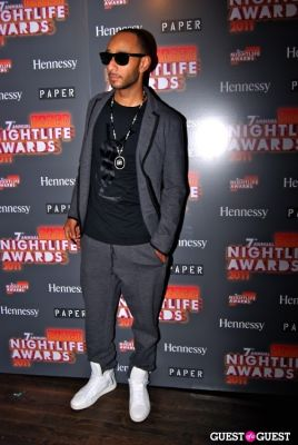 swizz beatz in 7th Annual PAPER Nightlife Awards